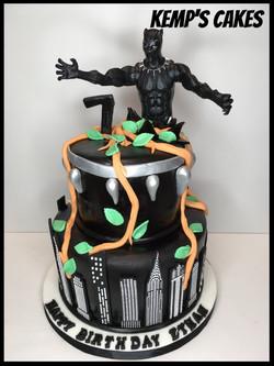 Black Panther Cake