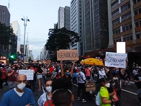 """119 cidades do Brasil e do exterior confirmam participação em atos pelo """"Fora Bolsonaro"""" no dia 24"""