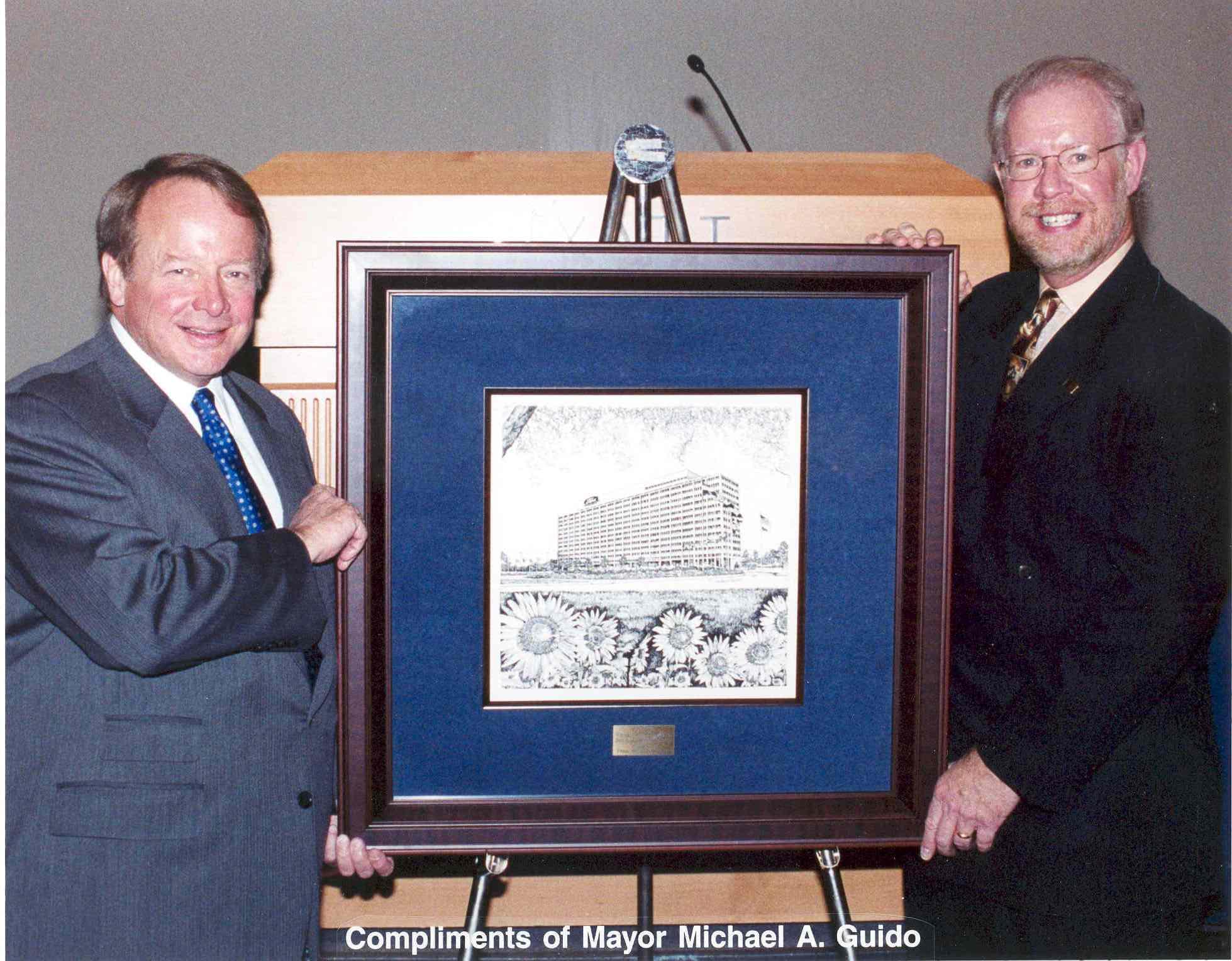 Presentation to Edsel B. Ford II