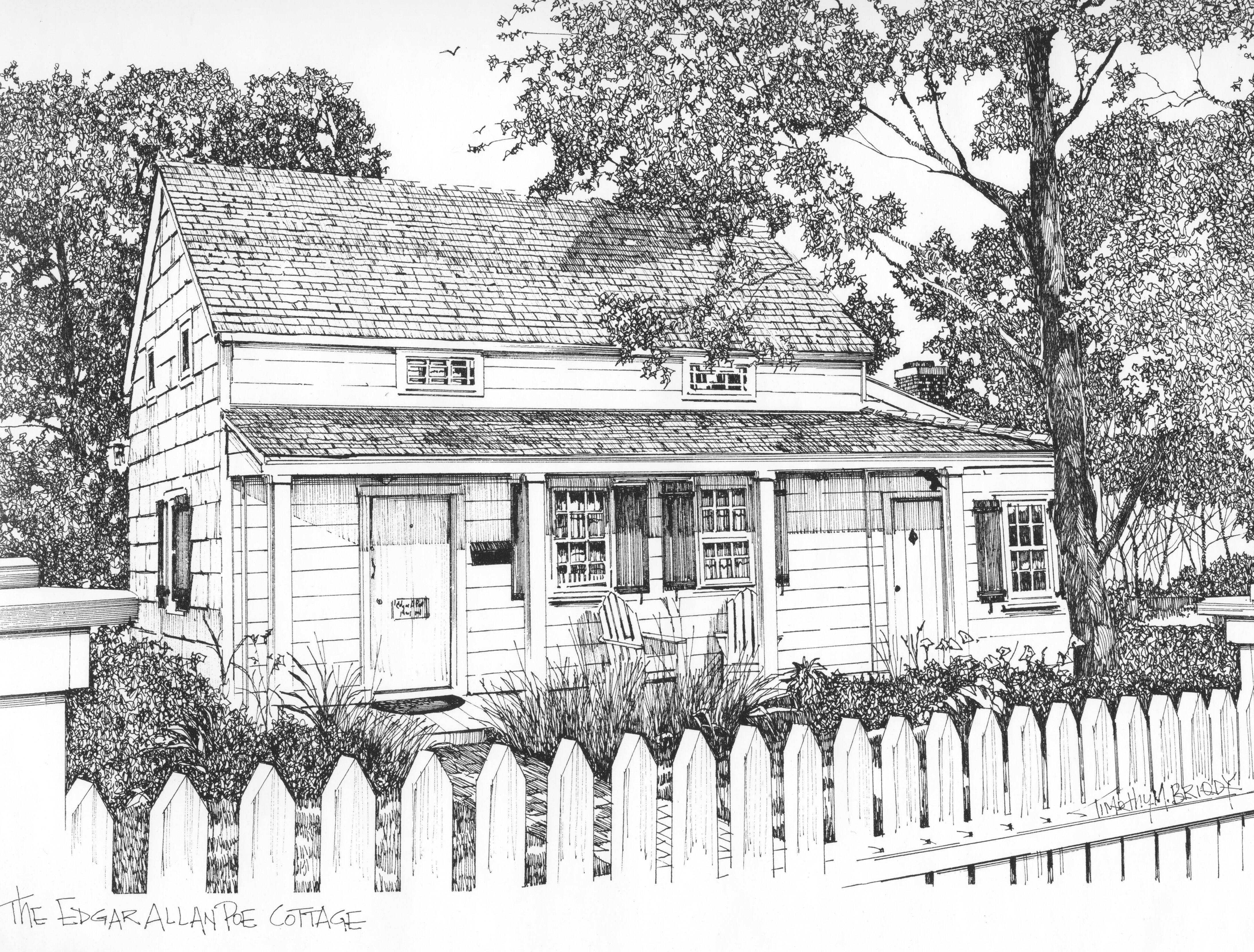 Edgar Allen Poe Home