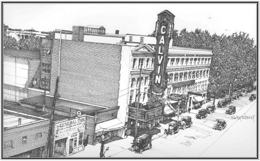 Calvin Theater 1929