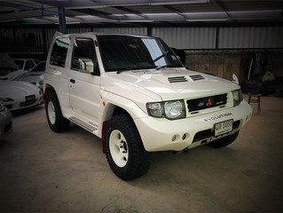 ว่าด้วยเรื่องของ Mitsubishi Pajero Evolution V55