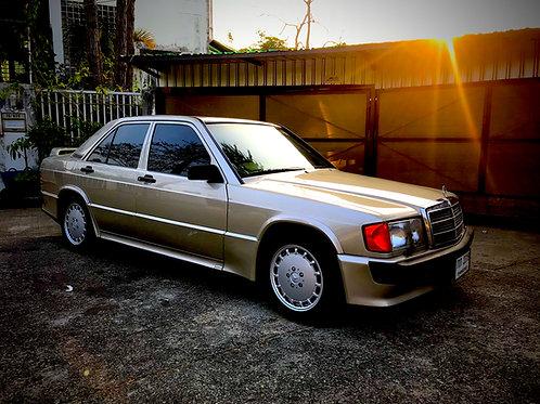 (SOLD) Mercedes Benz 190E 2.3-16