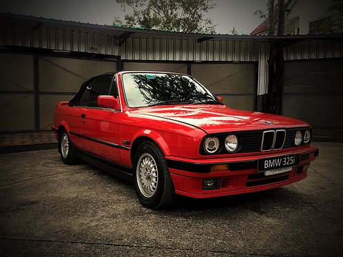 (SOLD) BMW E30 325i Convertible