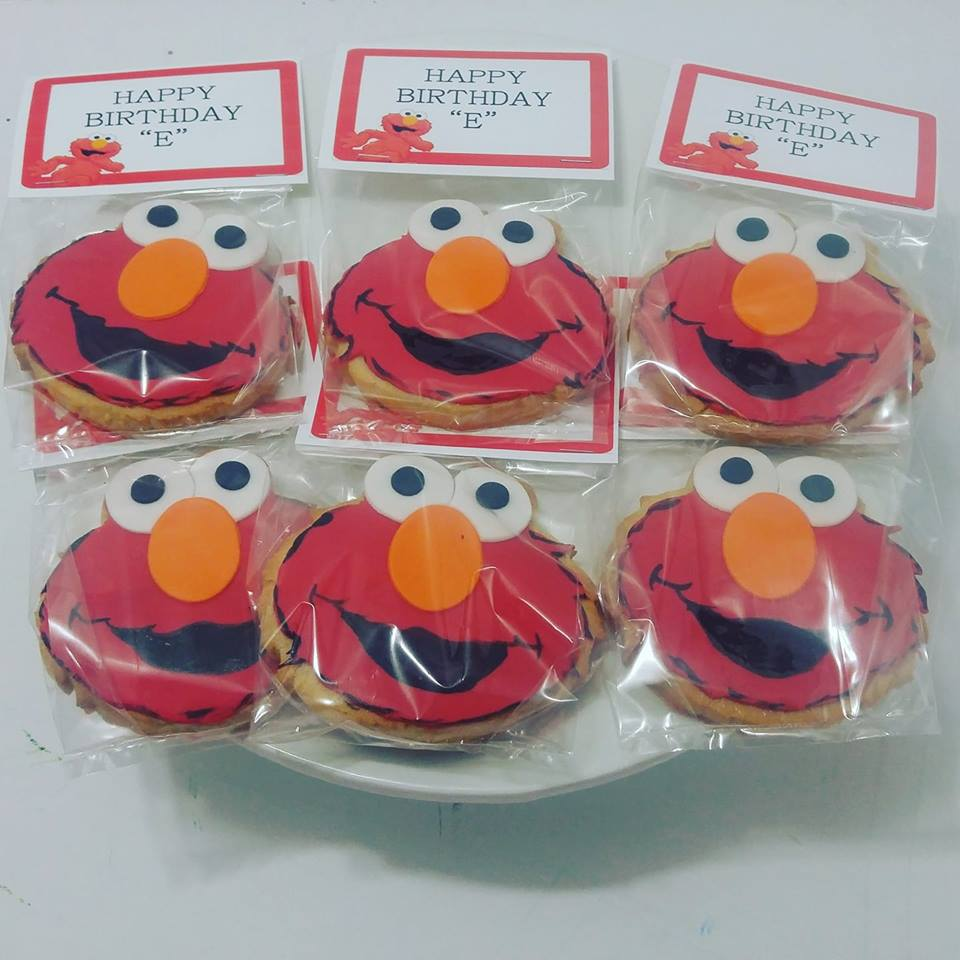 Elmo cookie