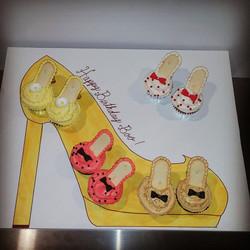 Heels cupcakes