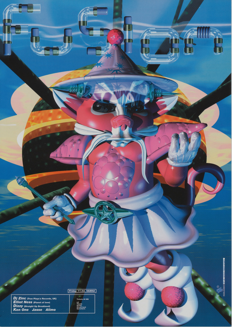 Straight Up Breakbeat Fusion, 1997