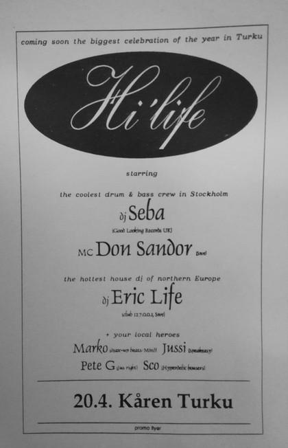 Hi-Life, 1996