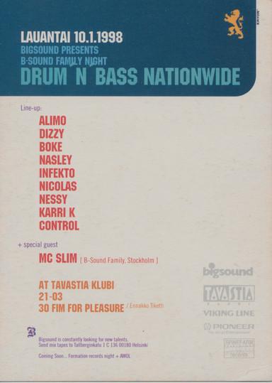 Big Sound Family Night, 1998