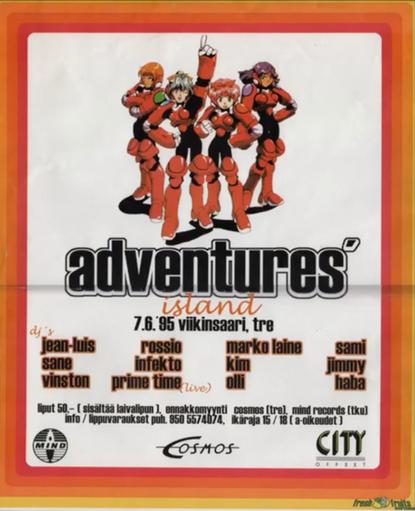 Adventures Island, 1996