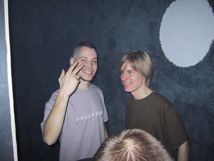 Nenis (Shark-e) & Dharma, Freeform 2002