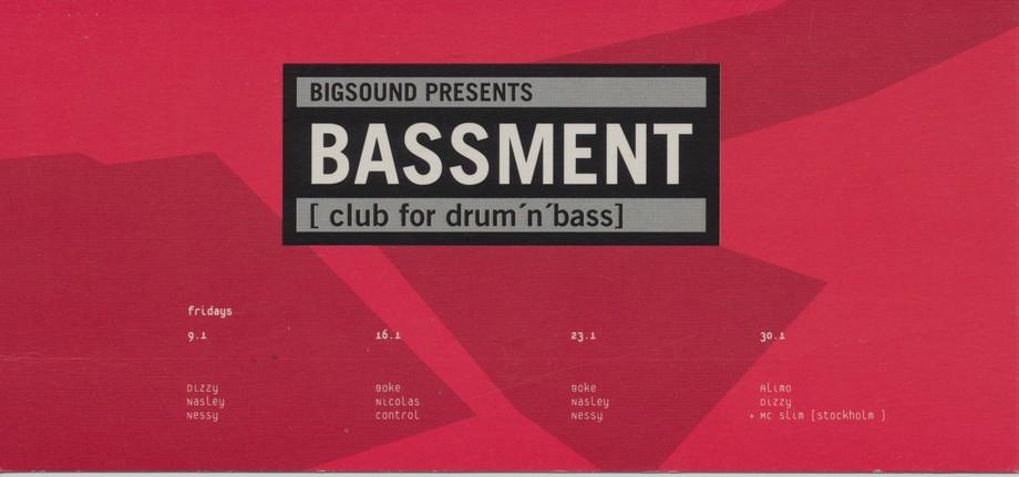 Bassment, 1998