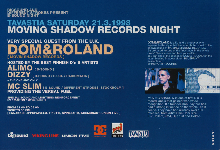 Big Sound / Moving Shadow, 1998