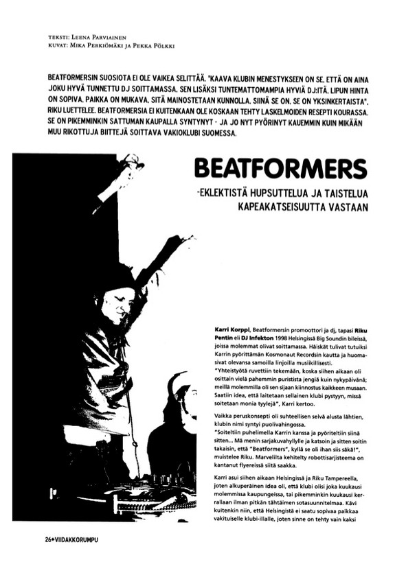 Beatformers