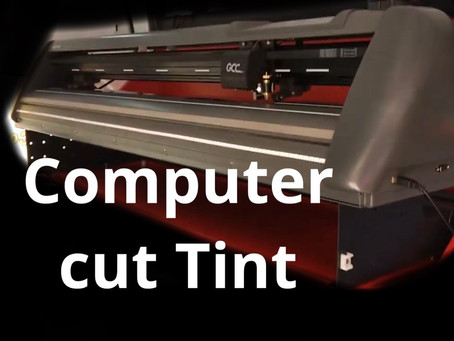 Now offering computer cut window tint