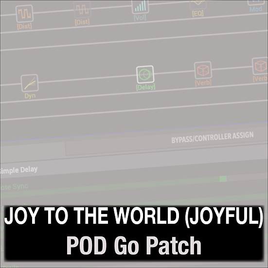 Joy to the World (Joyful Joyful) // Phil Wickham // POD Go Patch