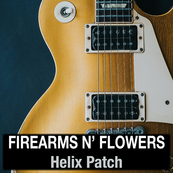Firearms n' Flowers // Helix Patch