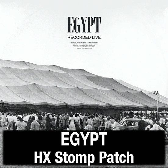 Egypt // Cory Asbury // Bethel Music // HX Stomp Patch