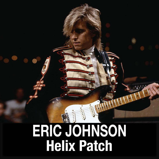 Eric Johnson // Clean, Rhythm, Lead // Helix Patches // 2 Patches