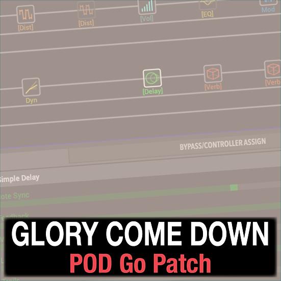 Glory Come Down // SEU Worship // POD Go Patch