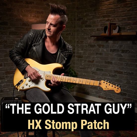 """Lincoln Brewster // """"The Gold Strat Guy"""" HX Stomp Patch"""