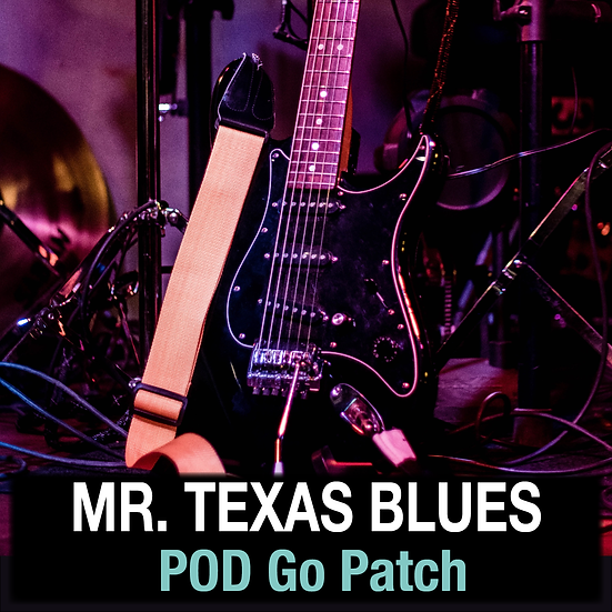 Mr. Texas Blues // POD Go Patch