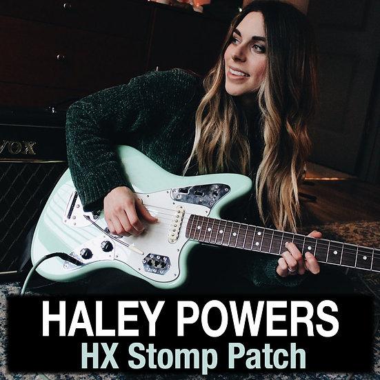 Haley Powers -  HX Stomp Patch