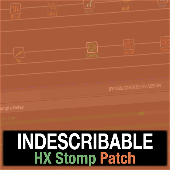 Indescribable // Hillsong Y&F // HX Stomp Patch