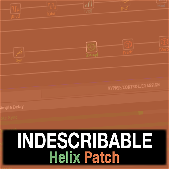 Indescribable // Hillsong Y&F // Helix Patch