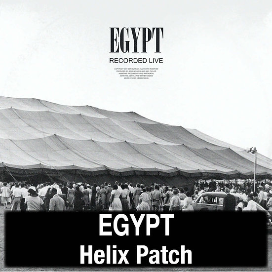 Egypt // Cory Asbury // Bethel Music // Helix Patch