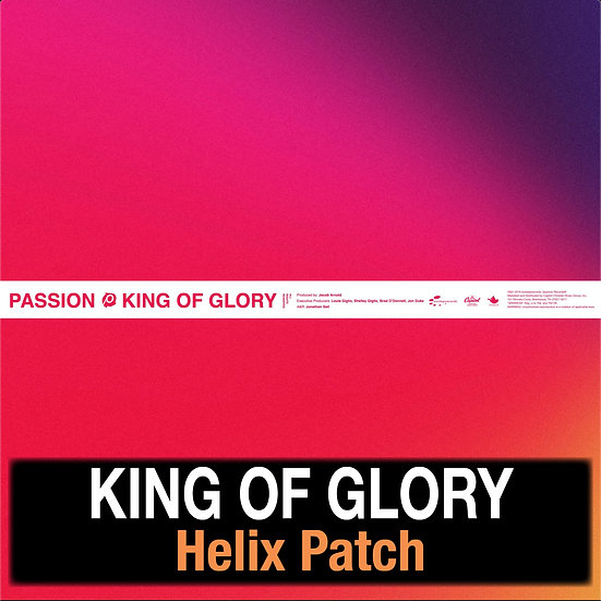 King of Glory - Helix Patch