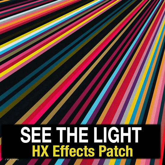 See the Light // Hillsong Worship // HX Effects Patch