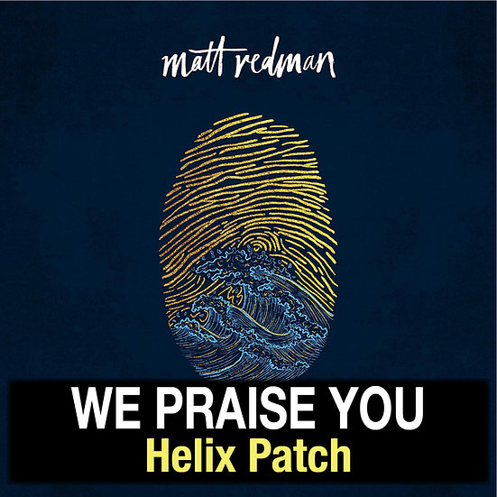 We Praise You // Matt Redman // Helix Patch
