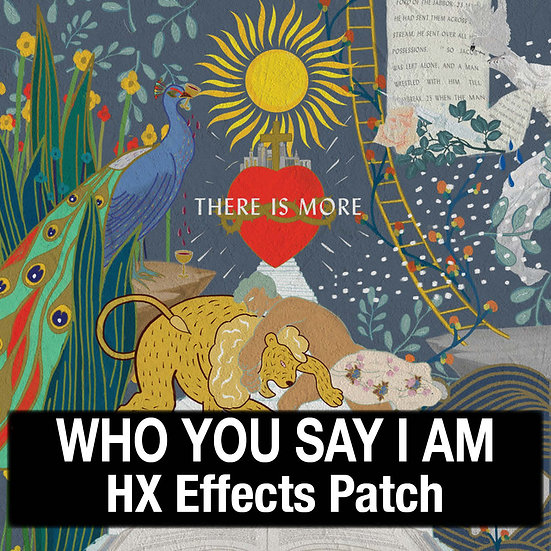 Who You Say I Am // Hillsong Worship // HX Effects Patch