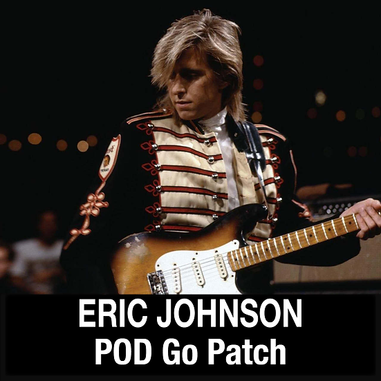 Eric Johnson // Clean, Rhythm, Lead // POD Go // 2 Patches
