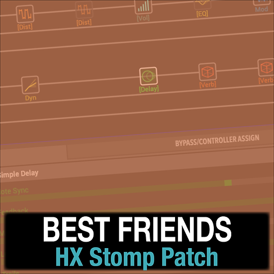 Best Friends // Hillsong Y&F // HX Stomp Patch