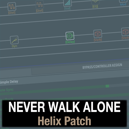 Never Walk Alone // Hillsong Worship // Helix Patch