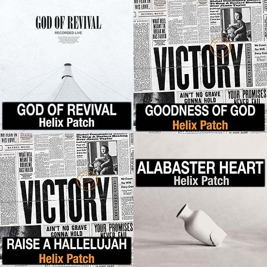 Bethel Music // Helix Patch Bundle // 4 Patches