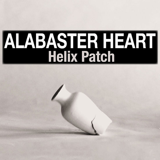 Alabaster Heart - Helix Patch