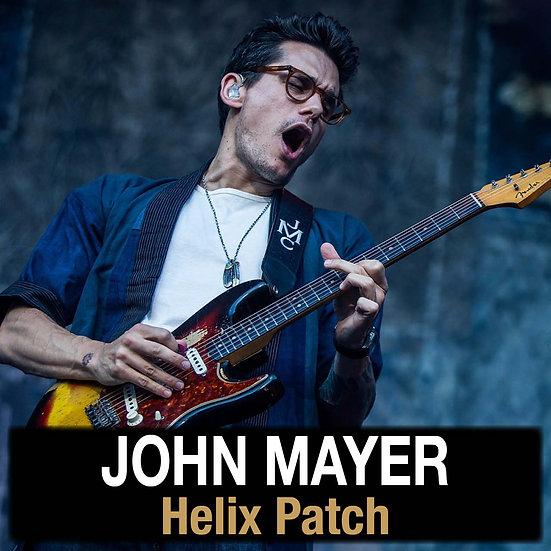John Mayer // Mayer of Toneville Helix Patch
