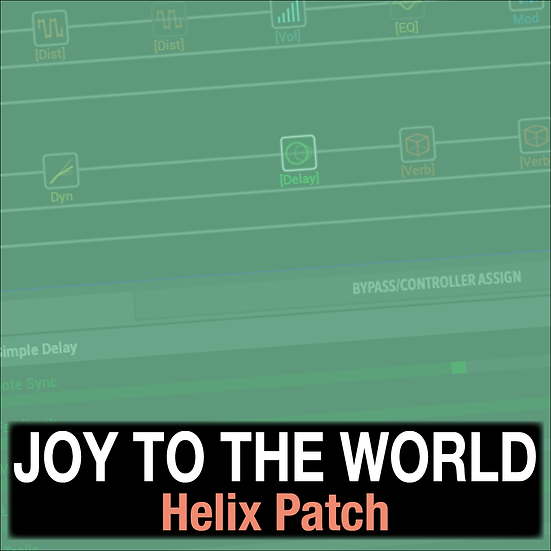Joy to the World // Lincoln Brewster // Helix Patch