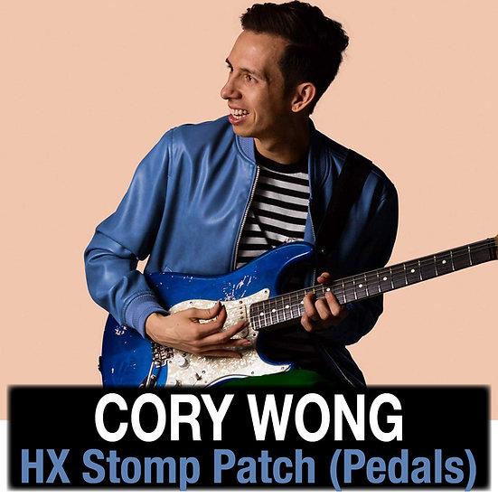 Cory Wong (Vulfpeck) - HX Stomp Patch (Pedals)