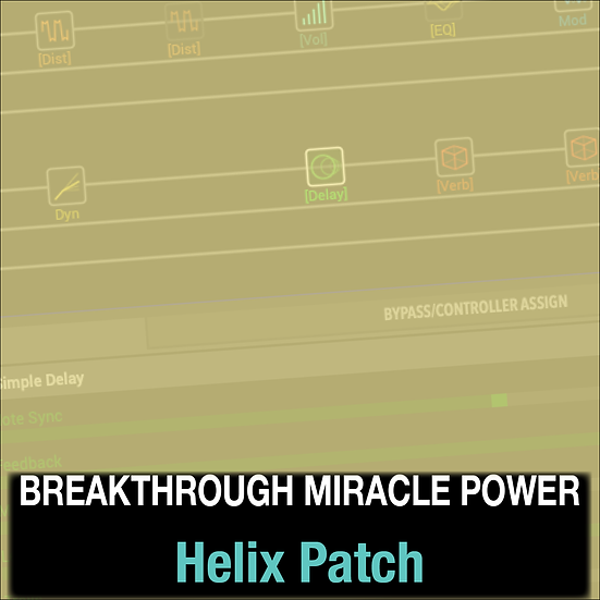 Breakthrough Miracle Power // Passion // Helix Patch