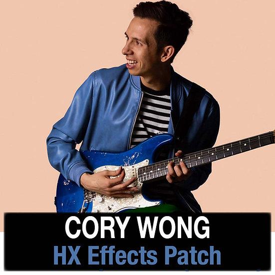 Cory Wong (Vulfpeck) // HX Effects Patch