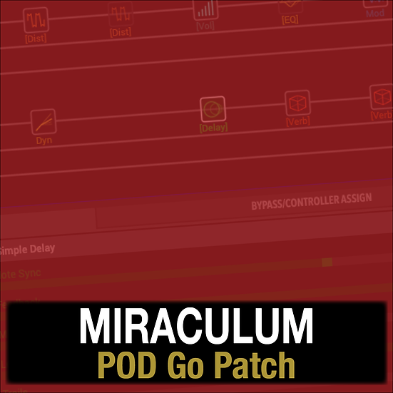 Miraculum // Lincoln Brewster // POD Go Patch
