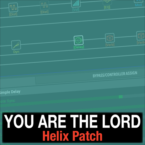 You are the Lord // Helix Patch