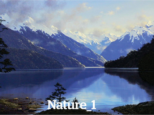 Canvas Prints Only (Nature) With Wrap