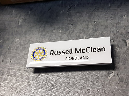 Name Badge (Domed)