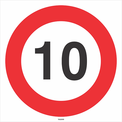 Speed Signs - Adhesive