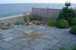 bluestone patio ocean view